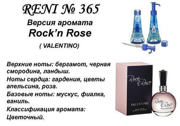 Аромат направление rock'n rose (valentino) 100мл