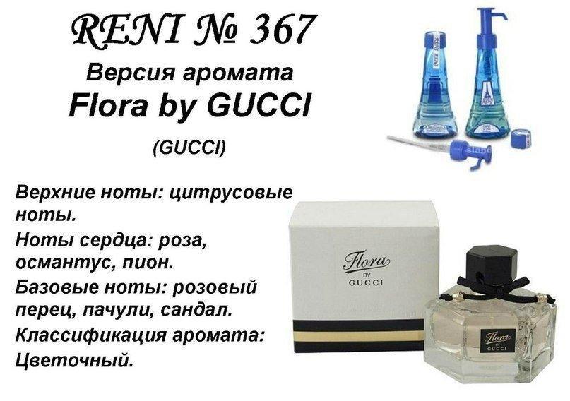 Аромат направление gucci flora by gucci (gucci) 100мл