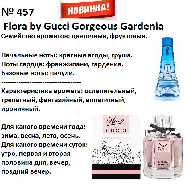 Аромат направление flora by gucci gorgeous gardenia (gucci) 100мл
