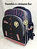 Школьный ранец для мальчика с 1-го по 3-й класс.Высота 38 см, ширина 29 см, глубина 18 см.