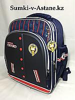 Школьный ранец для мальчика с 1-го по 3-й класс.Высота 38 см, ширина 29 см, глубина 18 см., фото 1