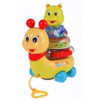 Музыкальная Улитка-пирамидка  Joy Toy, фото 1