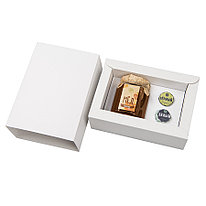 """Набор """"Уютный"""", мед разнотравье большой и чай подарочной упаковке,19*13*6 см"""