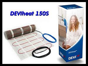 Супер тонкий одножильный нагревательный мат DEVIheat 150S - 0,5м x 10м
