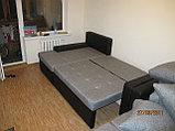 Вариант расцветки  и компановки углового дивана  в комплекте с креслом и пуфиком, фото 4