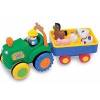 Kiddieland Трактор с домашними животными