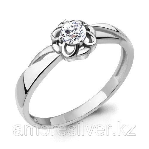 Кольцо из серебра с фианитом  Aquamarine 68643А.5