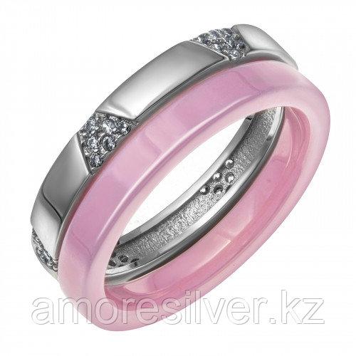 Серебряное кольцо с керамикой   Teosa CR-2495-P