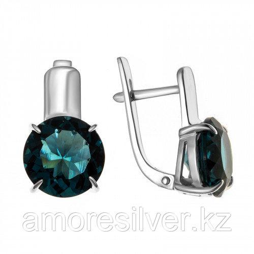 Серебряные серьги с фианитом  Teosa 2000-0386-TLC