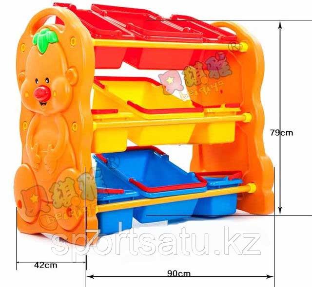 Детская площадка, ящик для игрушек HD48-3