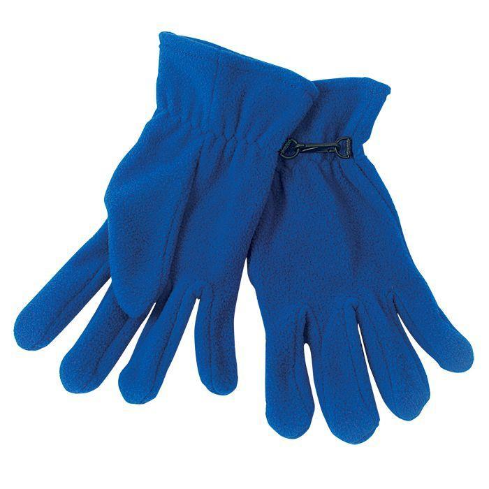 """Перчатки """"Monti"""", мужской размер, красный, флис, 200 гр/м2"""
