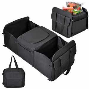 Сумка в багажник с термоотсеком 12 л., 31х28х5 см, в разложенном виде: 31х28х61 см