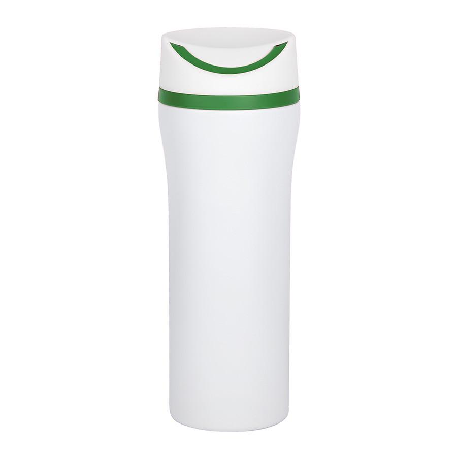 """Термокружка вакуумная """"Unique"""": стальная, 450 мл, зеленый"""