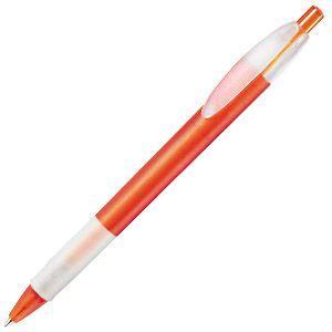 X-1 FROST GRIP, ручка шариковая, фростированный голубой/белый, пластик