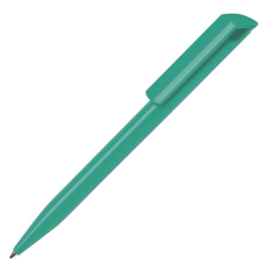 Ручка шариковая ZINK, аквамарин, пластик