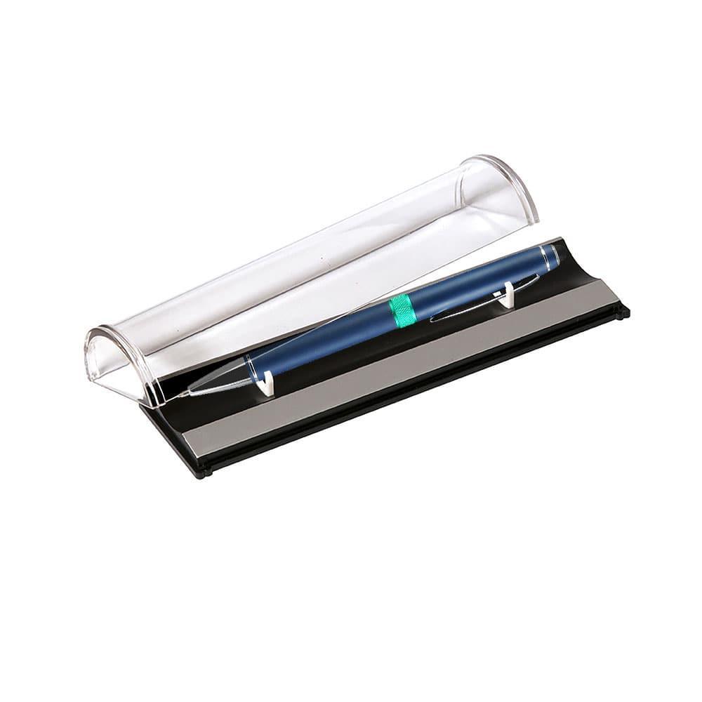 Шариковая ручка Ocean, синяя/аква, в упаковке