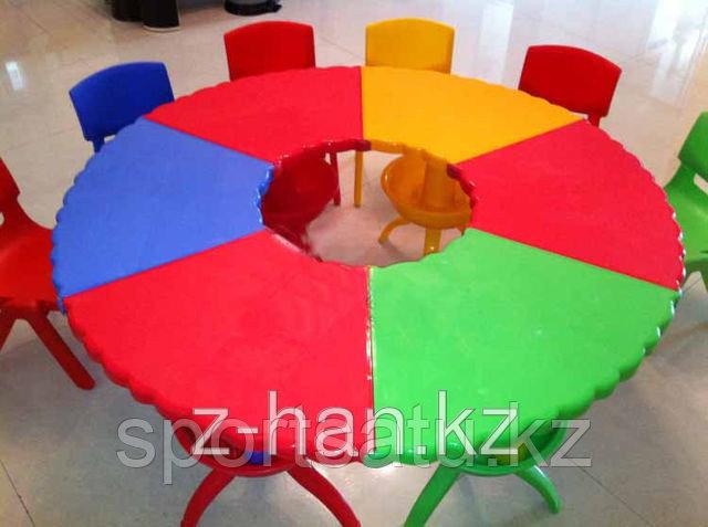 Детская площадка, стол для игр HD52-1