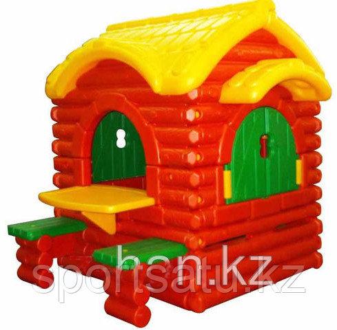 Детская площадка, домик HD48-3