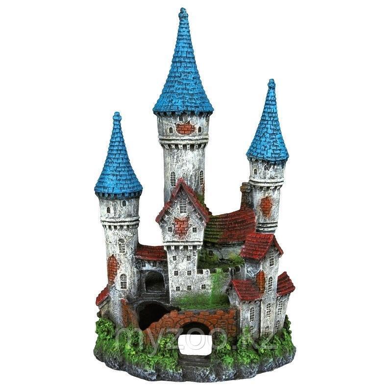 Декорация для аквариума. Замок. Полиэфирная смола,Высота 12сm.