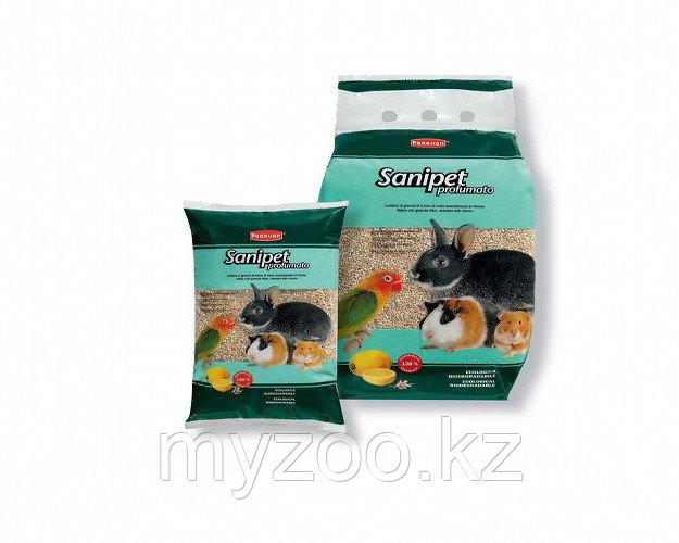 Padovan Наполнитель SANIPET profumato кукурузные гранулы д/грызунов (4л)