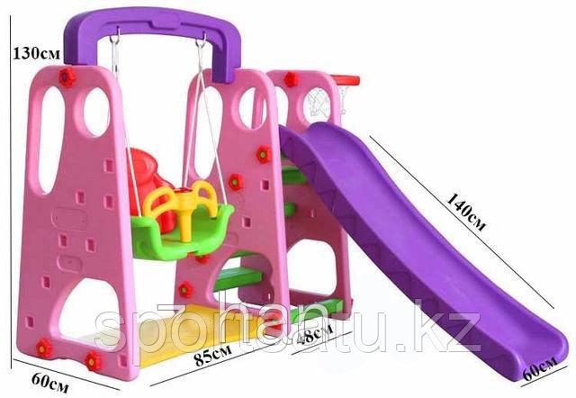 Детская площадка, горка  HD43-9