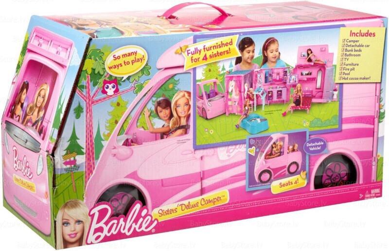 Игровой набор Барби Новый фургон для путешествий