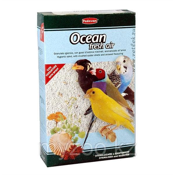 Padovan Наполнитель OCEAN fresh air био-песок  д/птиц (1кг)