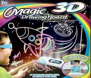 Доска для рисования с 3D-эффектом (Космос)