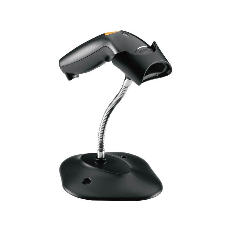 Сканер штрихкодов ZEBRA LS1203 с подставкой