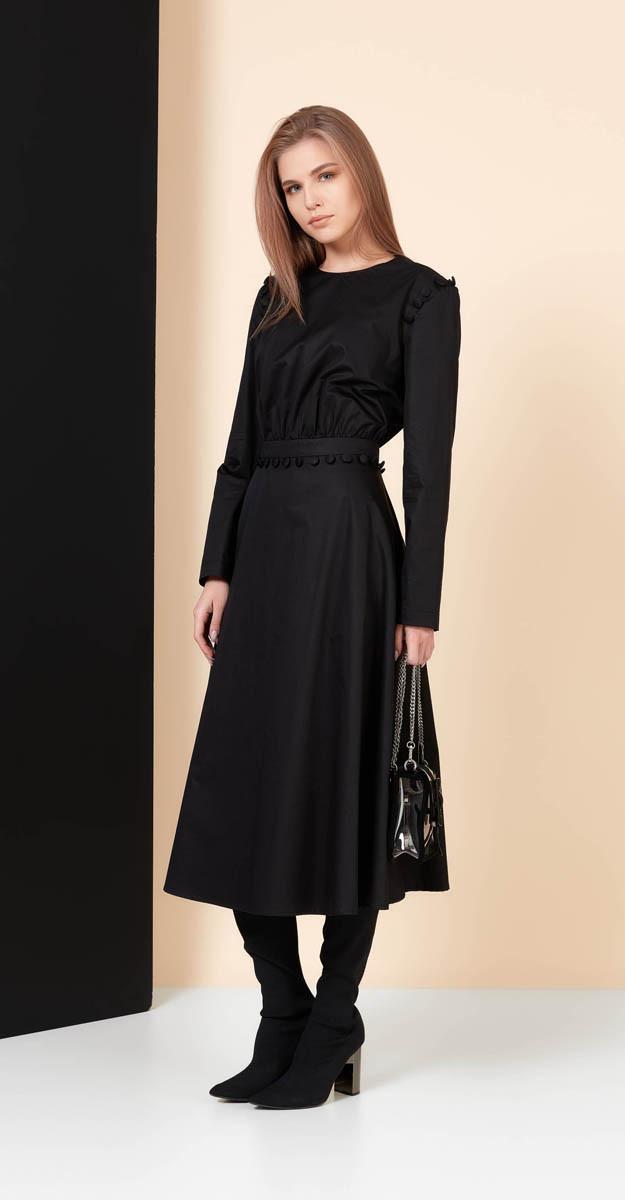 Платье Favorini-21832, черный, 42