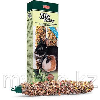 Padovan Лакомство STIX COUNTRY Coniglietti палочки сельские д/кроликов и морских свинок (100г)