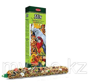 Padovan Лакомство STIX Pappagalli палочки фруктовые д/крупных и средних попугаев (150г)