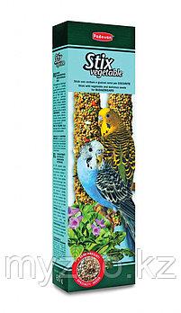 Padovan Лакомства STIX VEGETABLE палочки овощные д/волнистых попугаев (80г)