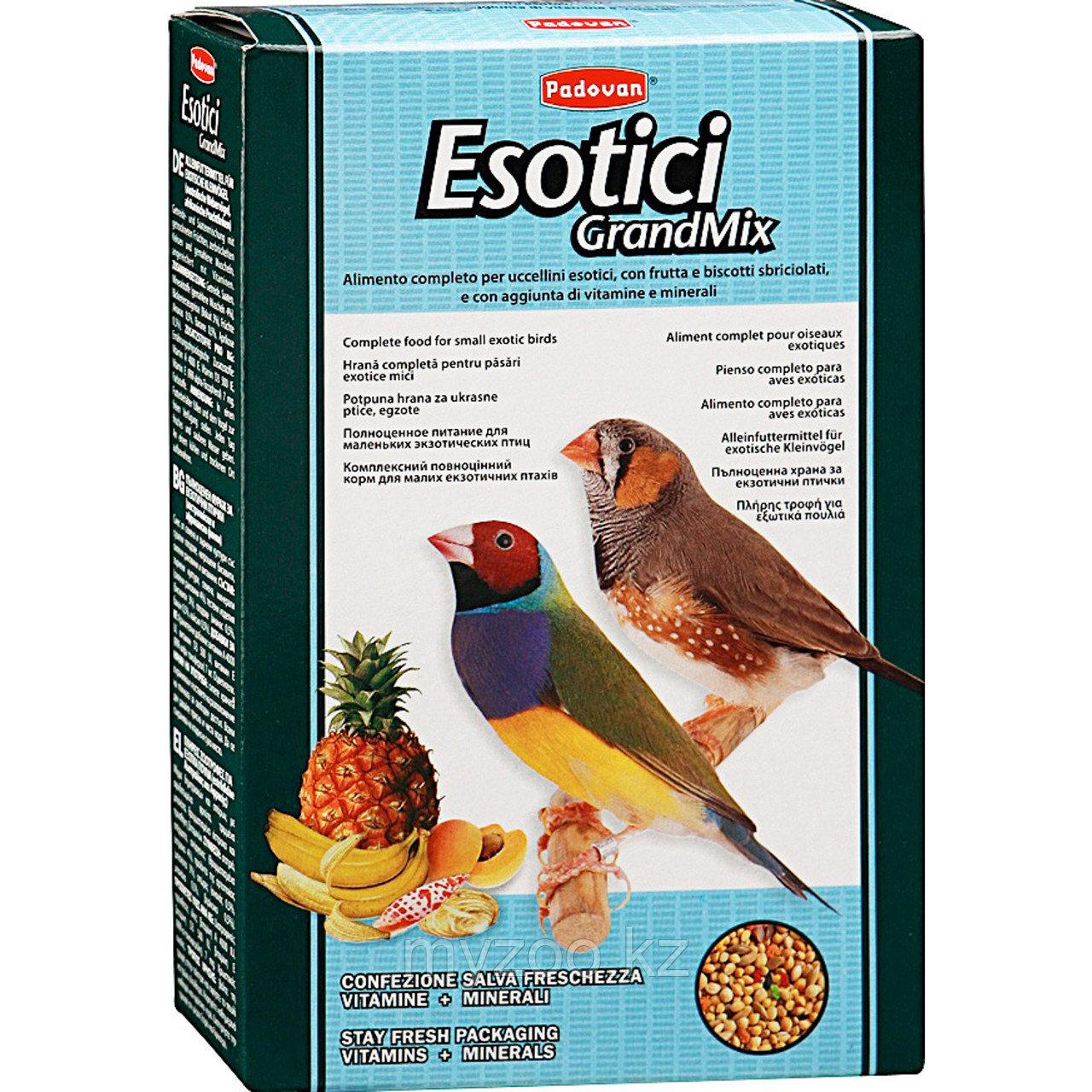 Padovan Корм GRANDMIX Esotici комплексный/основной  д/экзотических птиц (400г)
