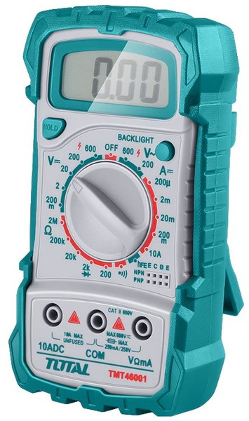 Мультиметр цифровой Total (TMT46001)