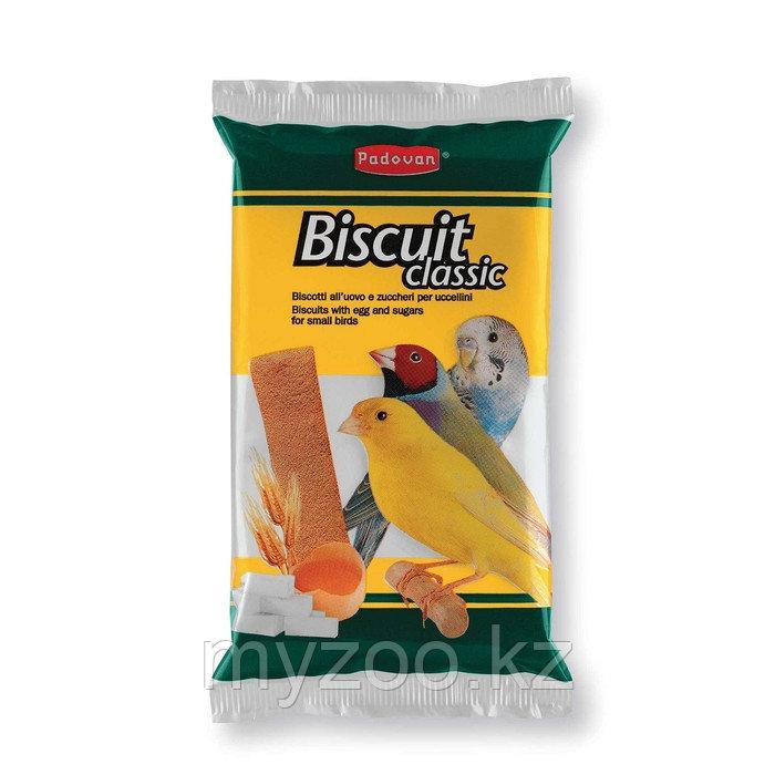 Padovan Лакомство BISCUIT  Classic бисквиты сладкие/яичные  д/декоративных птиц (30г)