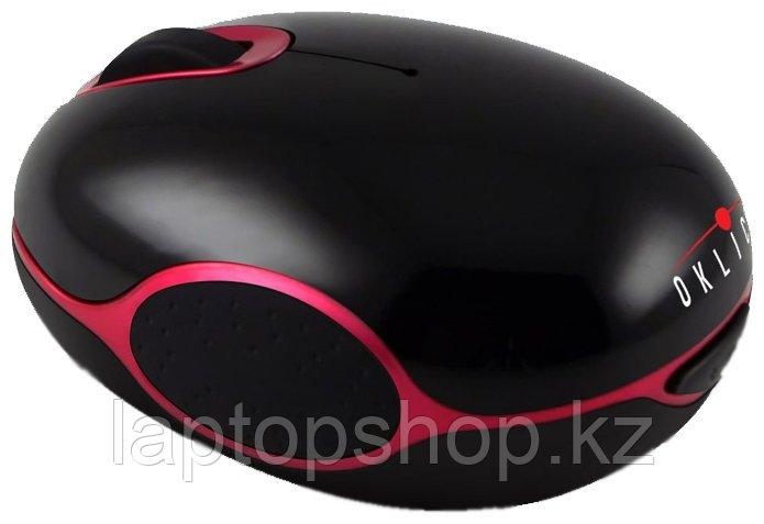 Мышь беспроводная Mouse Oklick 535XSW Black/Red wireless USB