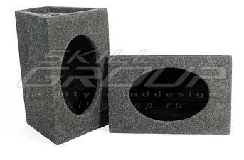 Короб для акустики 6х9 с фазоинвертором