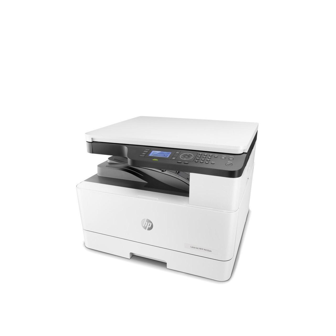 МФУ HP LaserJet M436dn B (Лазерный, А3, Монохромный (черно - белый), USB, Планшетный) 2KY38A