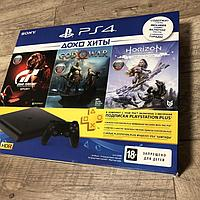PlayStation 4 SLIM! 1TB 3 Игры, фото 1