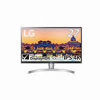 """Монитор LG 27UL650-W (27"""" / 68,58см, 3840x2160, IPS, 16:9, 350 кд/м2, 5 мс, 1000:1, 60 Гц, 2 x HDMI, 1 x"""