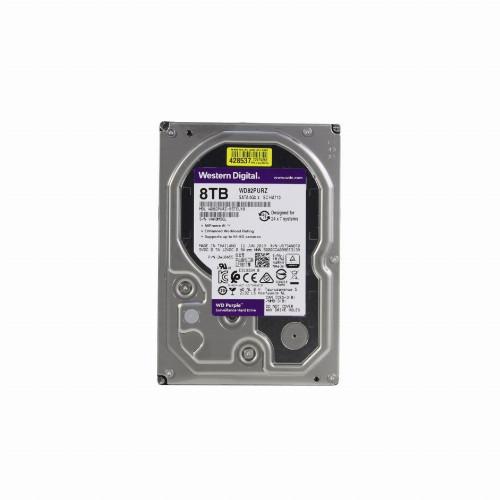 Жесткий диск внутренний Western Digital Purple WD82PURZ 8Тб HDD 3.5″ SATA WD82PURZ