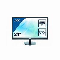 """Монитор AOC E2470SWDA/01 23.6"""" / 59.9см 1920 x 1080 Full HD TN 16:9 250 кд/м2 5 мс 1000:1 60 Гц E2470SWDA/01"""