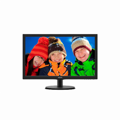 """Монитор Philips 243V5LSB/01 23.6"""" / 59.9см 1920 x 1080 Full HD TN 16:9 250 кд/м2 5 мс 1000:1 60 Гц 243V5LSB/01"""