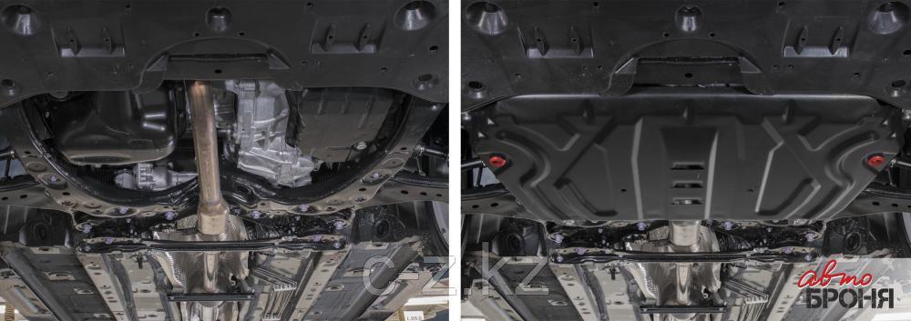 """Защита """"АвтоБРОНЯ"""" для картера и КПП (увеличенная) Toyota RAV4 (передний и полный привод) 2019 Н.В.., фото 2"""