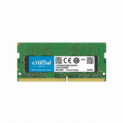 Оперативная память (ОЗУ) Crucial CT4G4SFS824A (4 Гб, SO-DIMM, 2400 МГц, DDR4, non-ECC, Unregistered)