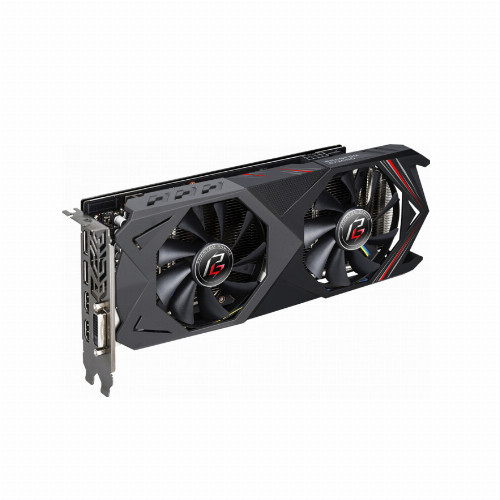 Видеокарта ASRock PHANTOM GAMING X RADEON RX590 8G OC (AMD, 8 Гб, GDDR5, 256 бит, PCI-E 3.0 x 16, 1 x DVI-D, 2