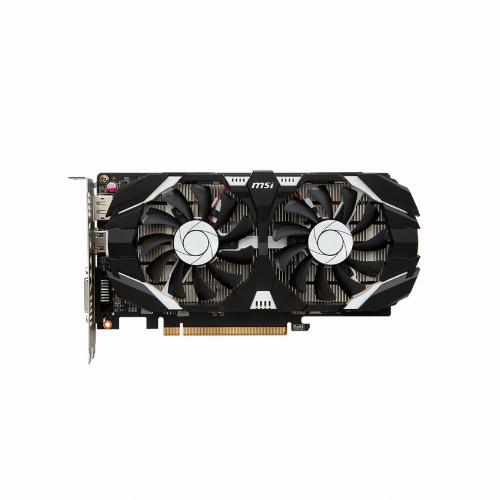 Видеокарта MSI GeForce GTX 1050 Ti GAMING X 4G (Nvidia, 4 Гб, GDDR5, 128 бит, PCI-E 3.0 x 16, 1 x DVI-D, 1 x