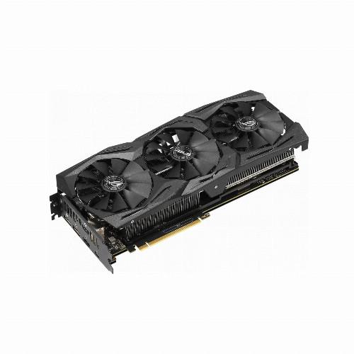 Видеокарта Asus ROG-STRIX-RTX2070-A8G-GAMING (Nvidia, 8 Гб, GDDR6, 256 бит, PCI-E 3.0 x 16, 2 x HDMI, 2 x