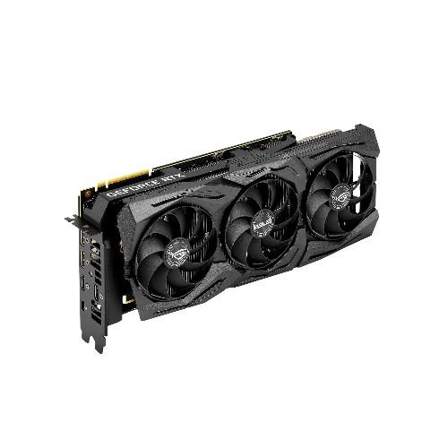 Видеокарта Asus ROG-STRIX-RTX2080TI-A11G-GAMING (Nvidia, 11 Гб, GDDR6, 352 бит, PCI-E 3.0 x 16, 2 x HDMI, 2 x